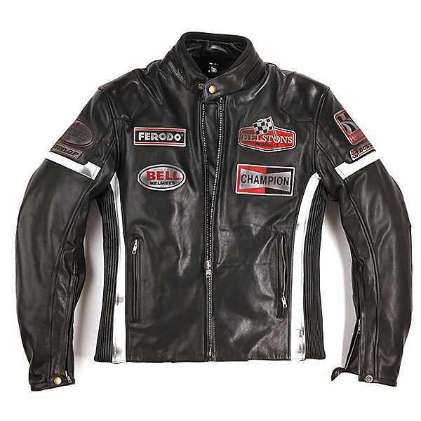 Gt Seven leather Jacket Helstons