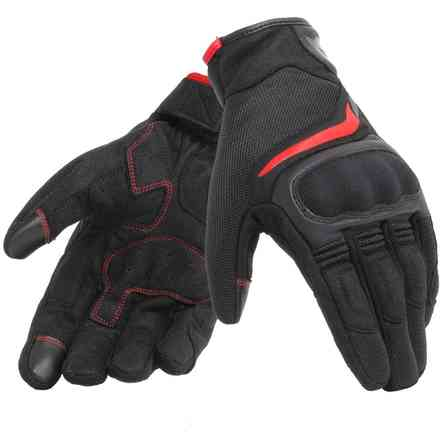 Guanti Air Master nero rosso Dainese