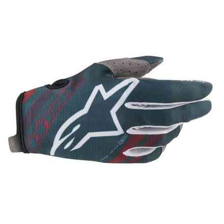 Guanti Alpinestars  Cross Radar Marrone - Petrol Alpinestars