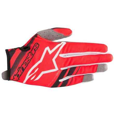 Guanti Alpinestars  Youth Radar Nero - Rosso Alpinestars