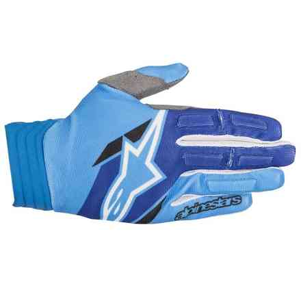 Guanti cross Aviator 2018 Aqua Blue Alpinestars