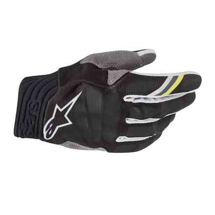Guanti Cross Aviator antracite nero Alpinestars