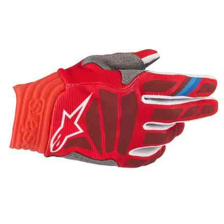 Guanti Cross Aviator rosso Burgundy Alpinestars