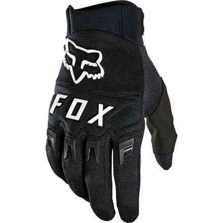 Guanti Cross Fx Dirtpaw Black/White Fox
