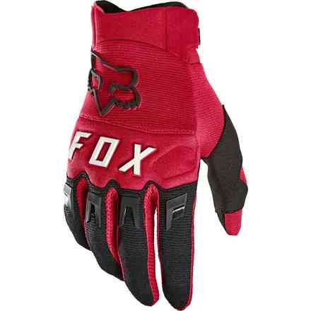Guanti Cross Fx Dirtpaw Flame Red Fox