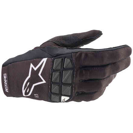 Guanti Cross Racefend Bianco Nero Alpinestars
