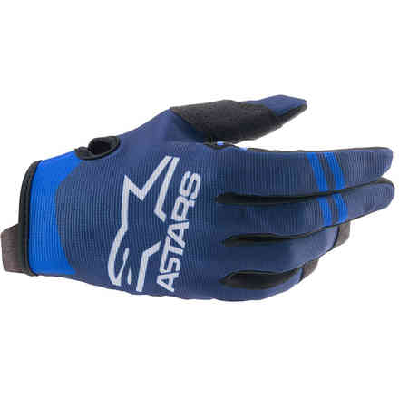 Guanti Cross Radar Blu Scuro Blu Alpinestars