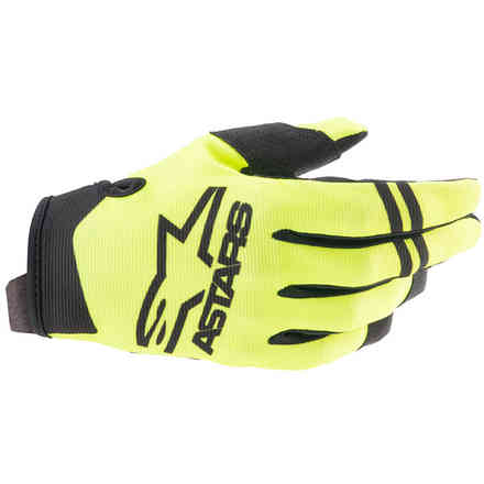 Guanti Cross Radar Giallo Nero Alpinestars