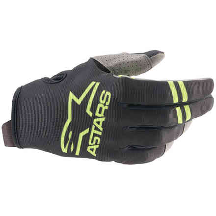 Guanti Cross Radar Nero Verde Alpinestars
