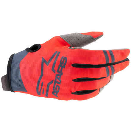 Guanti Cross Radar Rosso Antracite Alpinestars