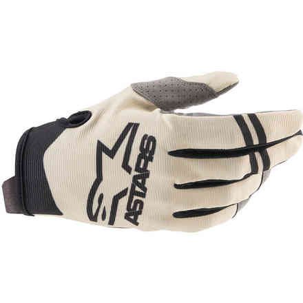 Guanti Cross Radar Sabbia Nero Alpinestars