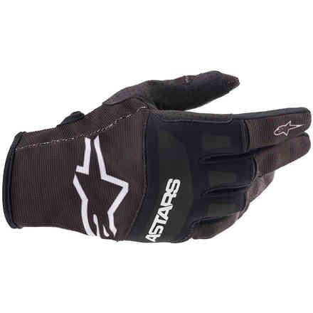 Guanti Cross Techstar Bianco Nero Alpinestars