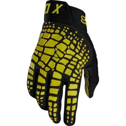 Guanti Fox Racing 360 Grav Giallo Scuro Fox