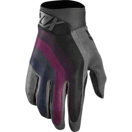 Guanti Fox Racing Airline Draftr Nero Charcoal Fox