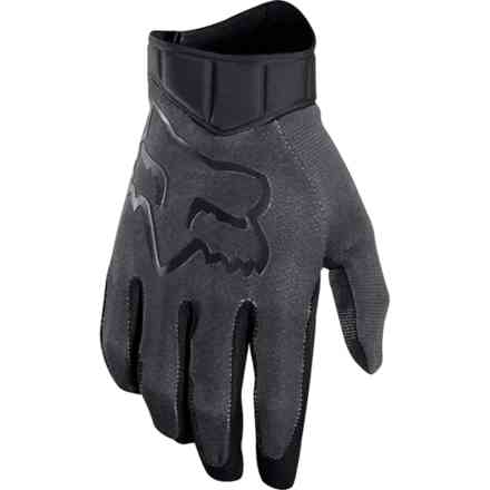 Guanti Fox Racing Airline Race  Nero- Charcoal Fox
