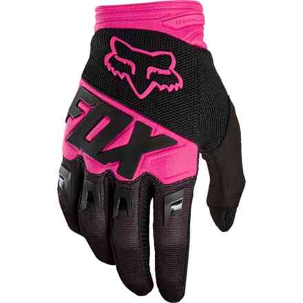 Guanti Fox Racing Dirtpaw Race Nero - Rosa Fox