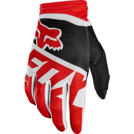 Guanti Fox Racing Dirtpaw Sayak Rosso Fox