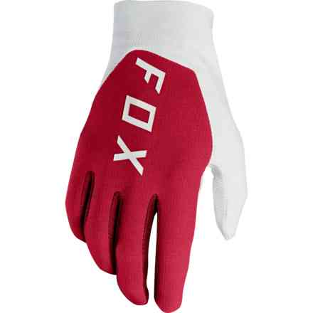 Guanti Fox Racing  Flexair Preest Rosso Scuro Fox
