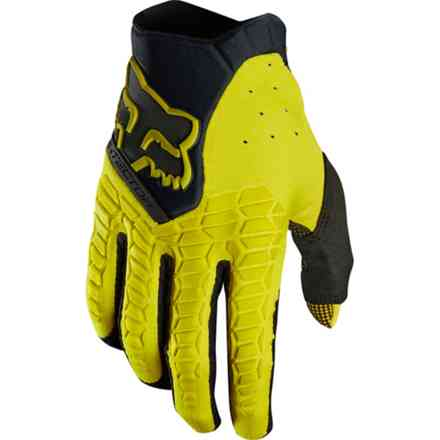 Guanti Fox Racing Pawtector Giallo Scuro Fox
