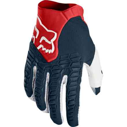 Guanti Fox Racing Pawtector Rosso-Navy Fox
