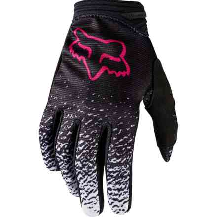 Guanti Fox Racing Youth Dirtpaw Girl Nero-Rosa Fox