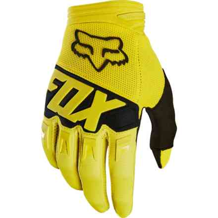 Guanti Fox Racing Youth Dirtpaw Race Giallo Fox