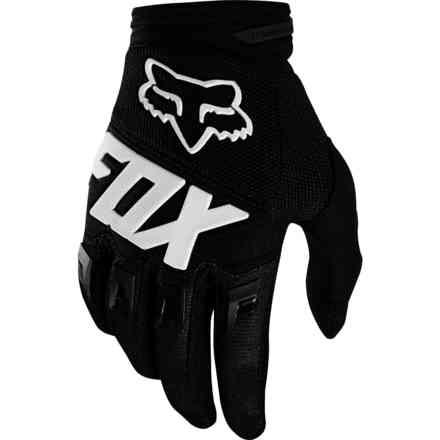 Guanti Fox Racing  Youth Dirtpaw Race Nero Fox