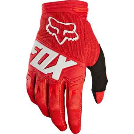 Guanti Fox Racing Youth Dirtpaw Race Rosso Fox