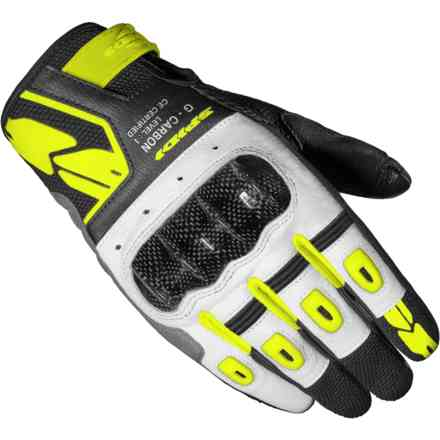 Guanti G-Carbon Lady Giallo Fluo Spidi