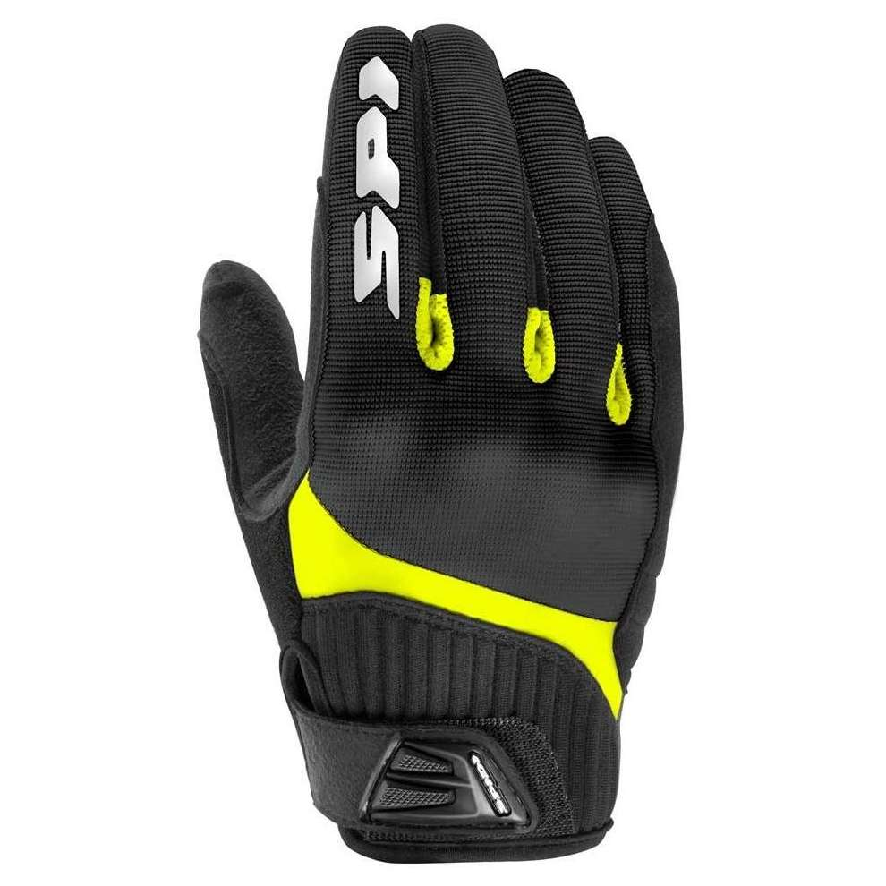 Guanti G-Flash Tex nero-giallo Spidi