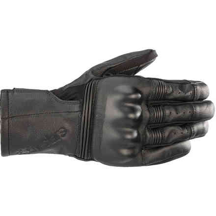 Guanti Gareth Leather Neri Alpinestars