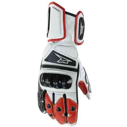 Guanti KK4R HT White/Red/Black Axo
