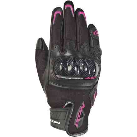 Guanti Rs Rise Air Lady Nero Fucsia Ixon
