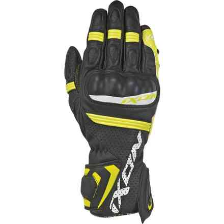 Guanti Rs Tempo Air Nero Giallo Ixon