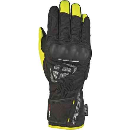 Guanti Rs Tourer Nero Giallo Ixon