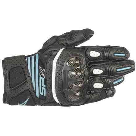 Guanti Stella Sp X Air Carbon V2 nero teal Alpinestars