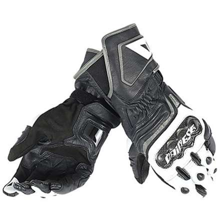 Guanto Carbon D1 long nero-bianco-antracite Dainese