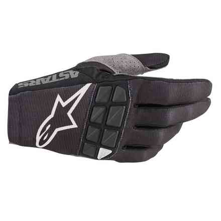 Guanto Cross Racefend nero bianco Alpinestars