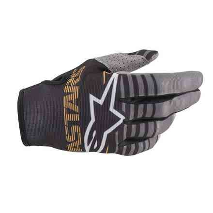 Guanto Cross Radar nero grigio scuro Alpinestars