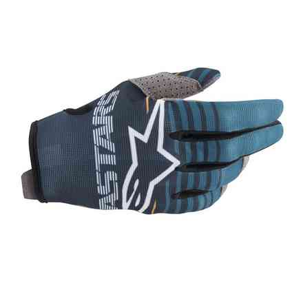 Guanto Cross Radar petrol navy Alpinestars