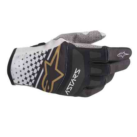 Guanto Cross Techstar grigio nero  Alpinestars