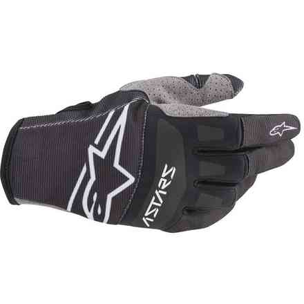 Guanto Cross Techstar nero bianco Alpinestars