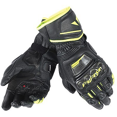 Guanto Druid D1 Long nero-giallo Dainese