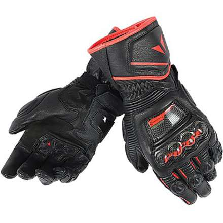 Guanto Druid D1 Long nero-rosso Dainese