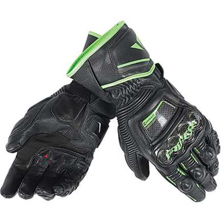 Guanto Druid D1 Long nero-verde Dainese