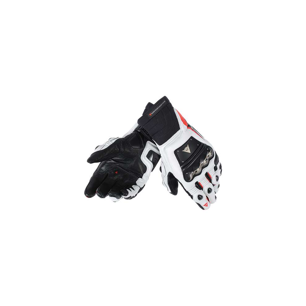 Guanto Race Pro In nero-rosso fluo-bianco Dainese