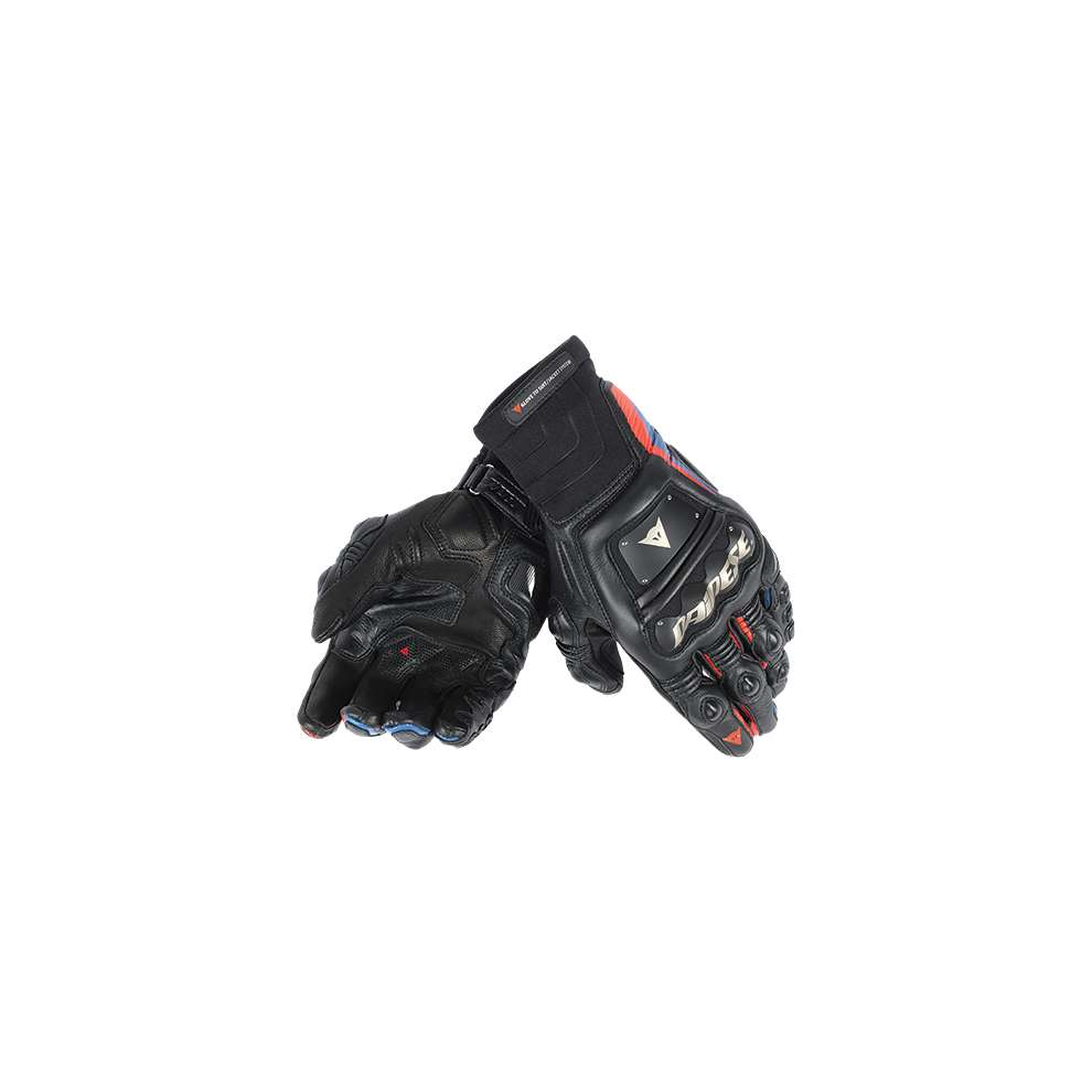 Guanto Race Pro In nero-rosso fluo Dainese