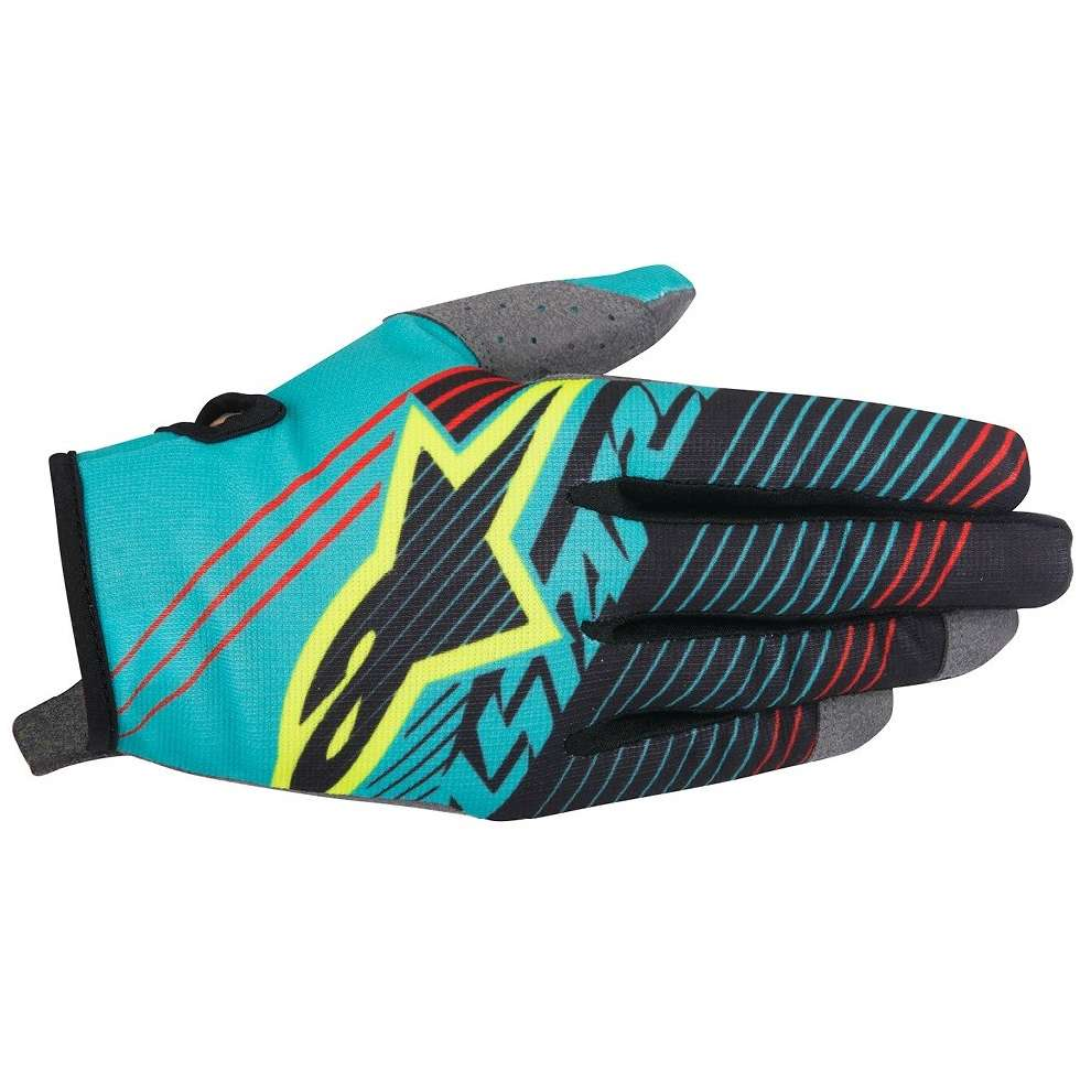 Guanto Youth Radar Tracker blu nero Alpinestars