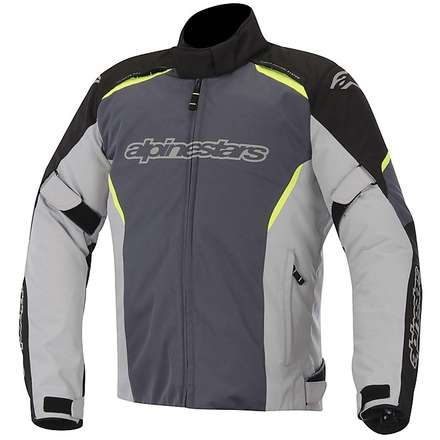 Gunner WP Jacket 2015 black-gray-yellow fluo Alpinestars