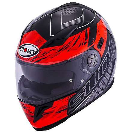 Halo Drift red Helmet Suomy